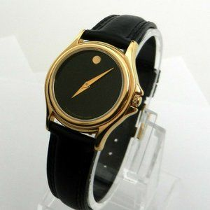 Stunning Movado Gold Classic Dial Women's Watch